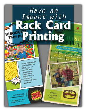Online Rack Card Printing Tips