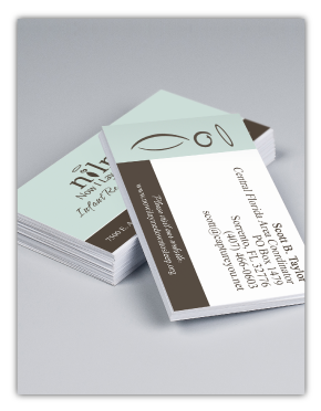 Coordinator Business Card Example