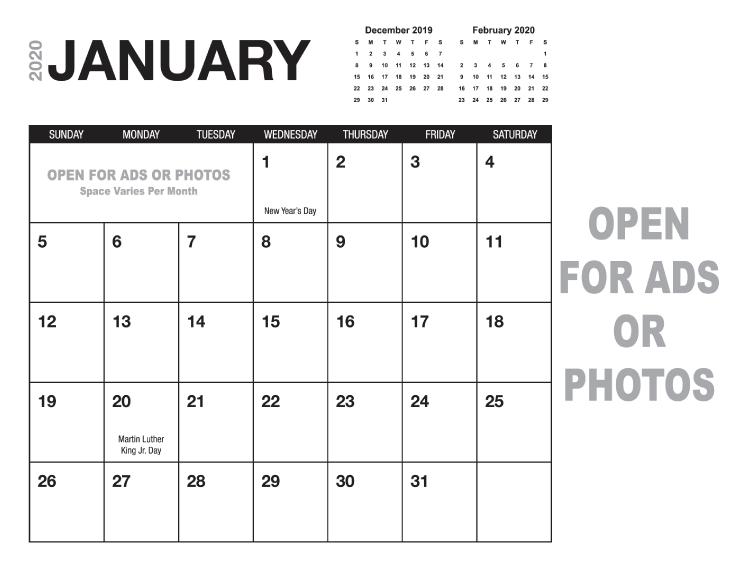 Calendario 2019 Illustrator.Calendar Templates Printingcenterusa