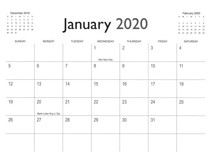 Calendar Templates | PrintingCenterUSA