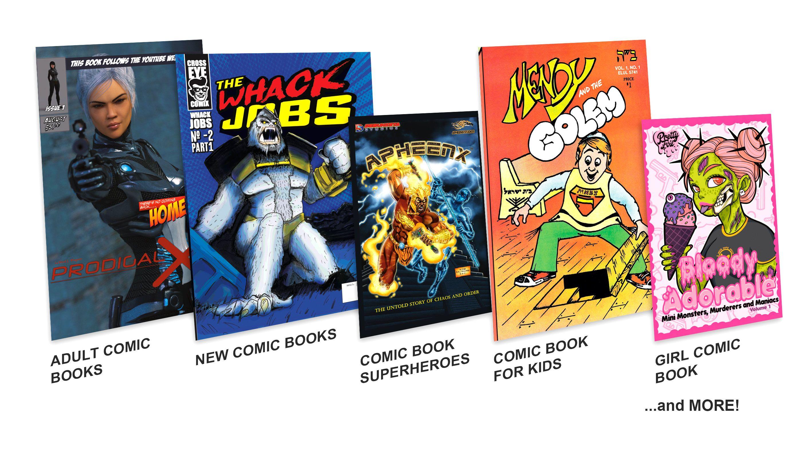 Comic Book BookTypes