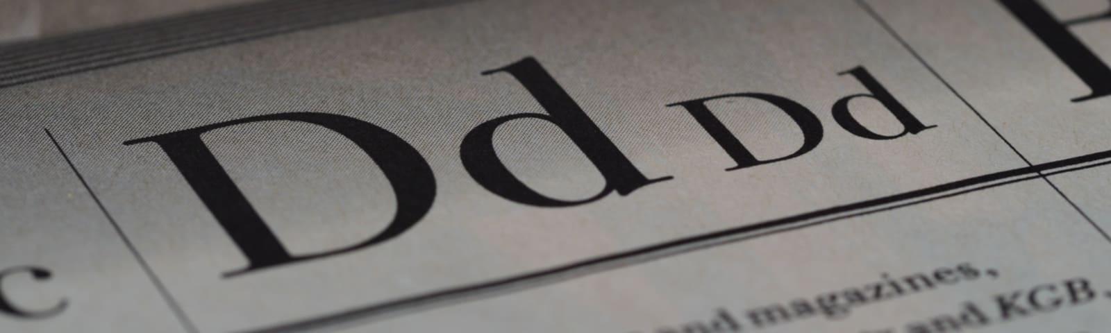 Imagem de destaque do post Quais são as melhores fontes de letras para imprimir livro?