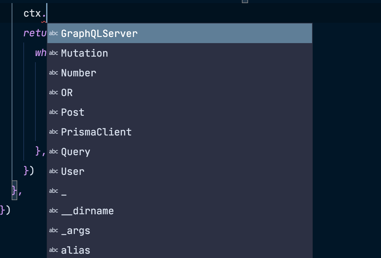 Unwanted autocomplete values by VSCode