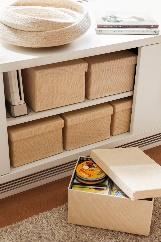 7-00426450. cajas marrones para guardar-00426450