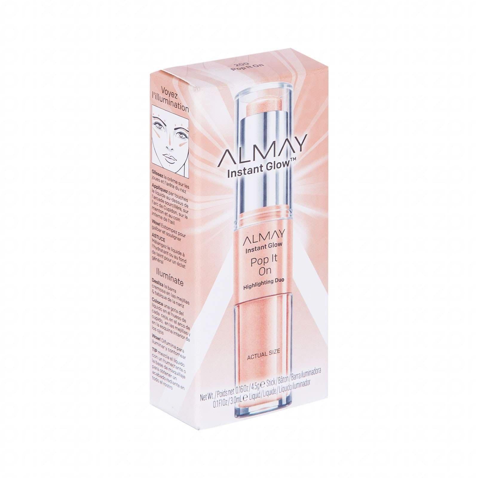 Almay instant glow pop it on 30 ml