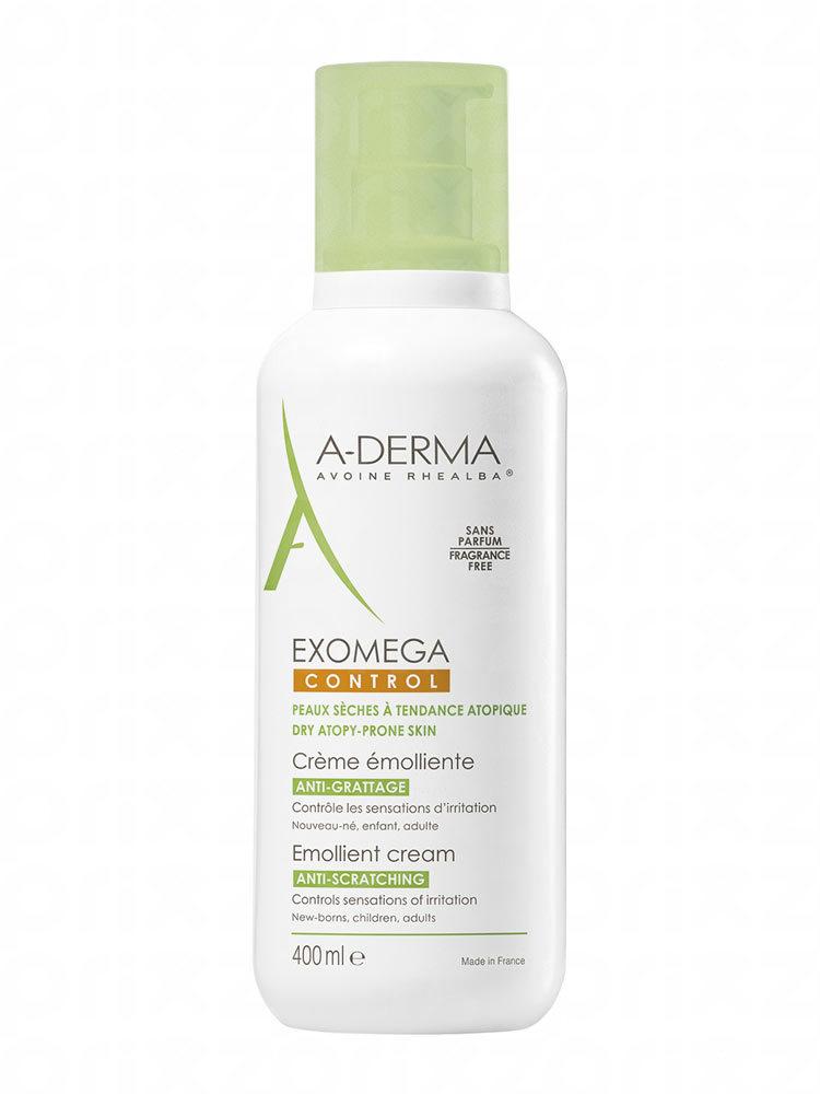 A-Derma Exomega Control Crema Facial y Corporal para Piel con Tendencia Atópica 400 ml