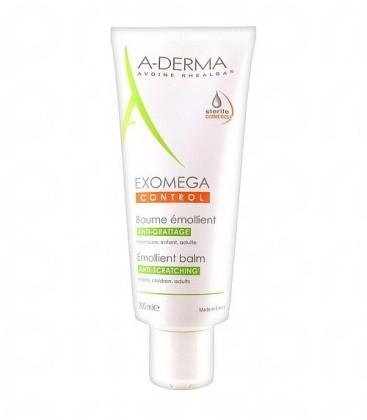 A-Derma Exomega Control Bálsamo Facial y Corporal para Piel con Tendencia Atópica 200 ml