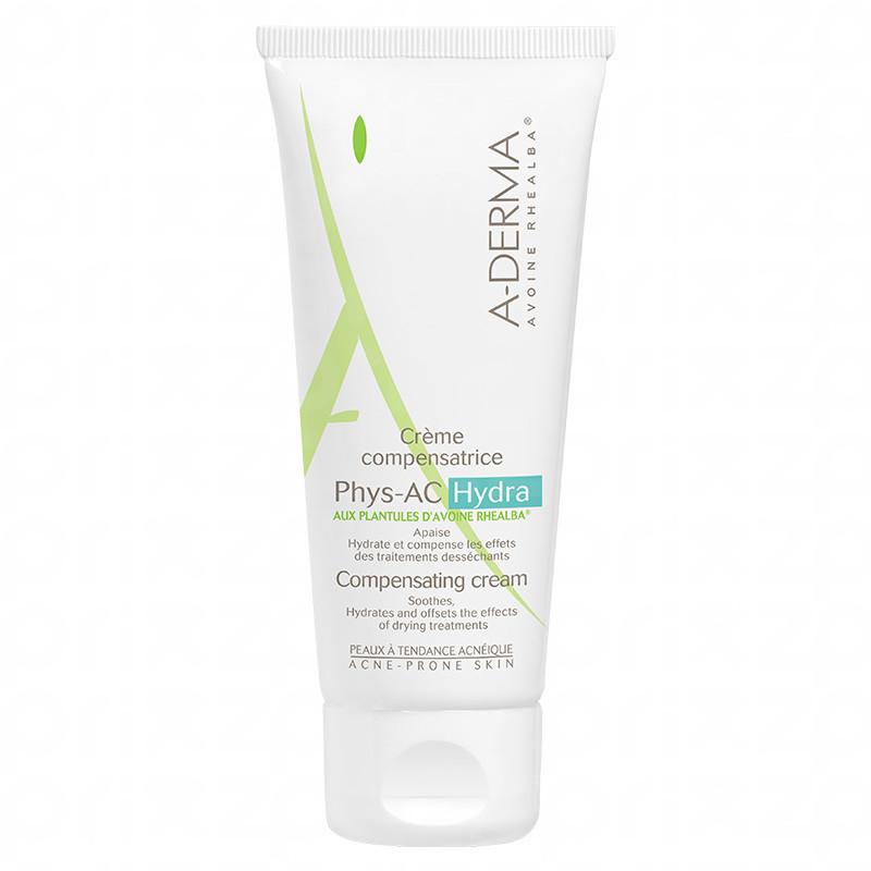 A-Derma Phys-AC Crema Hidratante Facial para Piel con Tendencia Acnéica