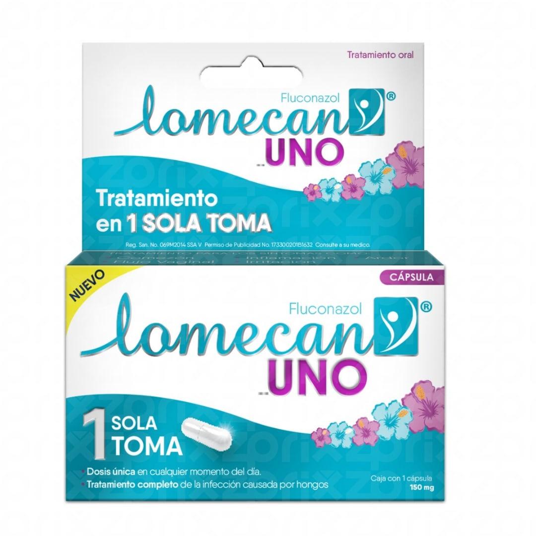 Lomecan V Uno 1 Cápsula 150 mg
