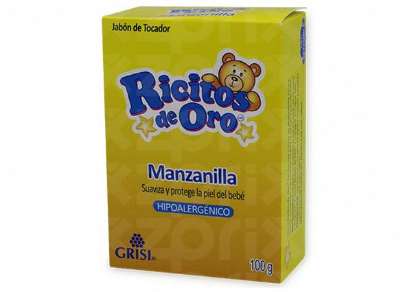 Grisi Ricitos de Oro Jabon Manzanilla