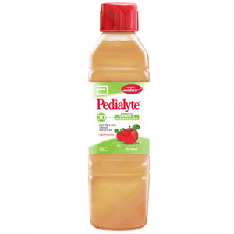 Pedialyte sabor Manzana 500 ml