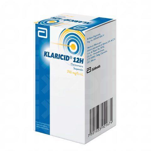 Klaricid 12h 250 Mg Oral Pediatrico Suspension Smart Club