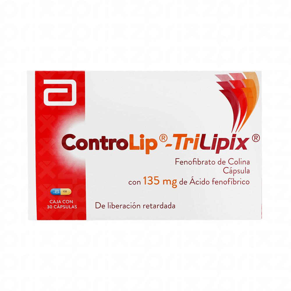 ControLip TriLipix 135 mg oral 30 capsulas