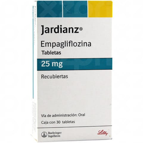 Jardianz 25 mg oral 30 tabletas (N)