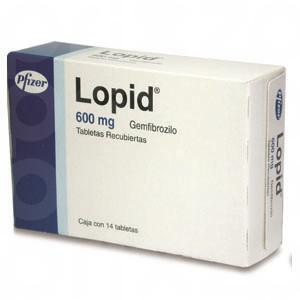 Lopid 600 Mg. Oral 14 Tabletas