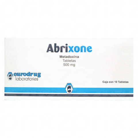 Abrixone 500 mg + 3 cajas oral 10 tabletas