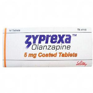 Zyprexa 5 Mg. Oral 14 Tabletas
