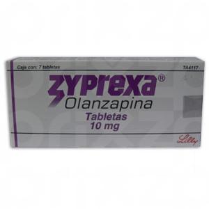 Zyprexa 10 Mg. Oral 7 Tabletas