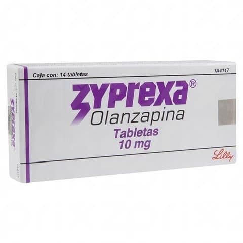 Zyprexa 10 mg oral 14 tabletas