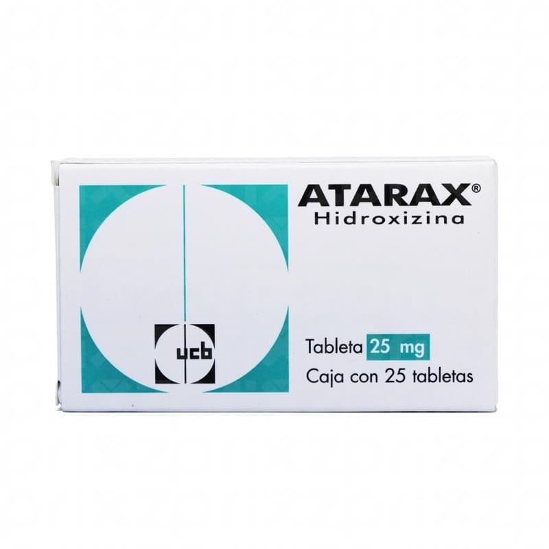 ATARAX 25MG 25 TAB
