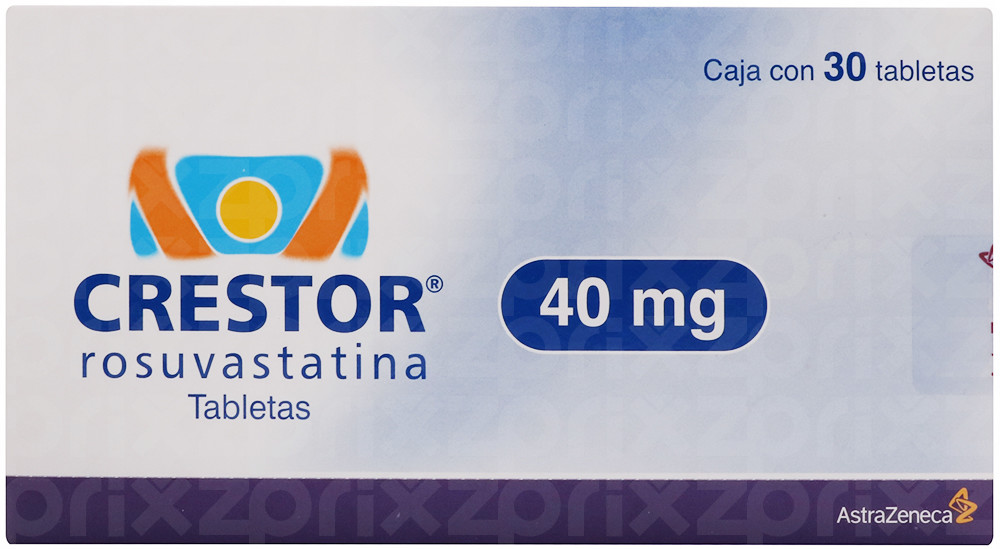 Crestor 40 mg oral 30 tabletas
