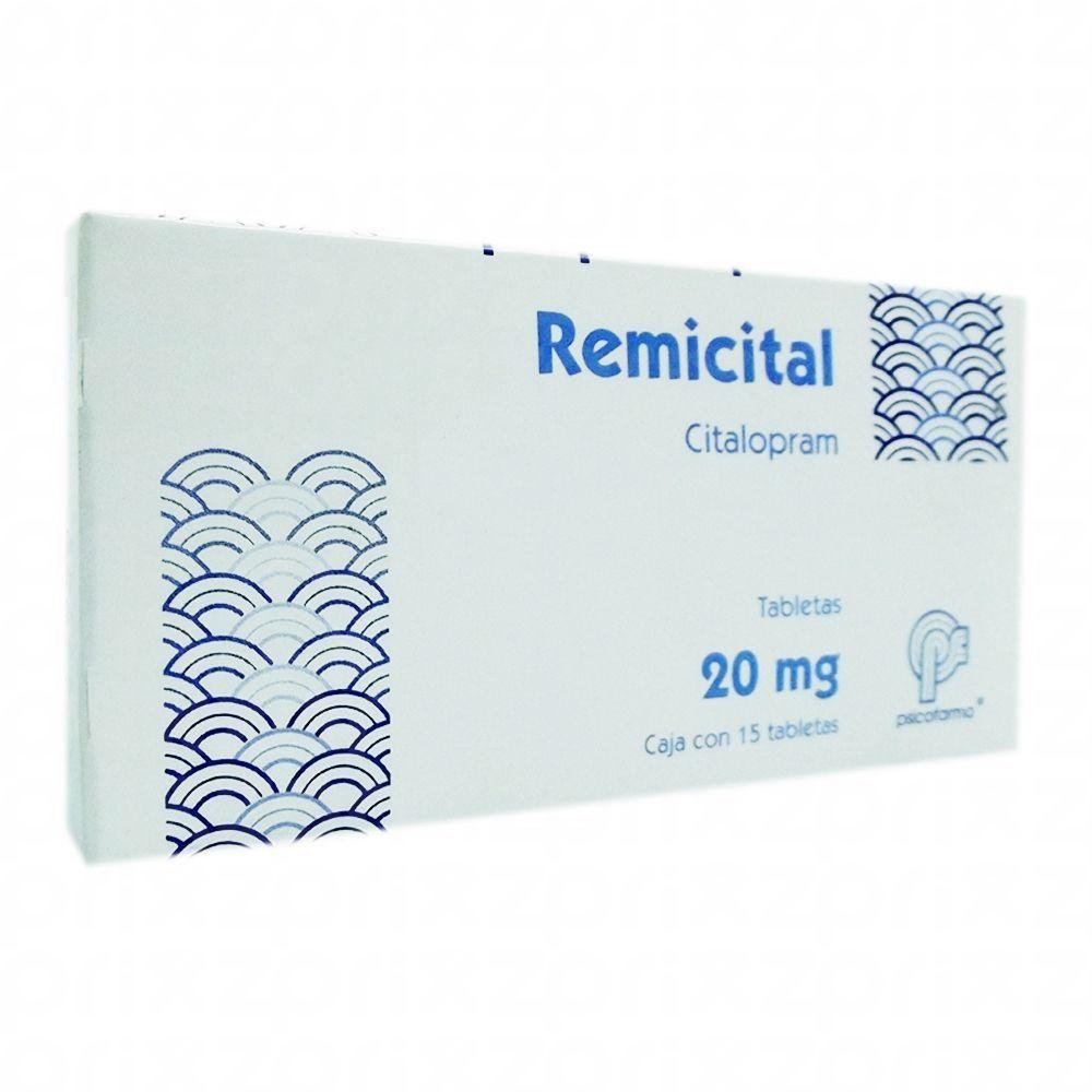 Remicital 20 Mg. Oral 15 Tabletas