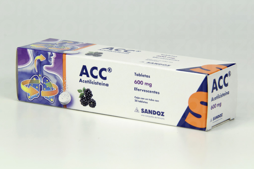 Acc 600 Mg. Oral 20 Tabletas Efervecentes