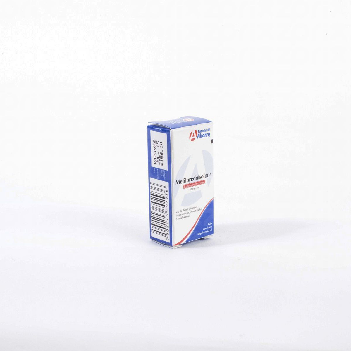Marca del Ahorro Metilprednisolona 40 mg