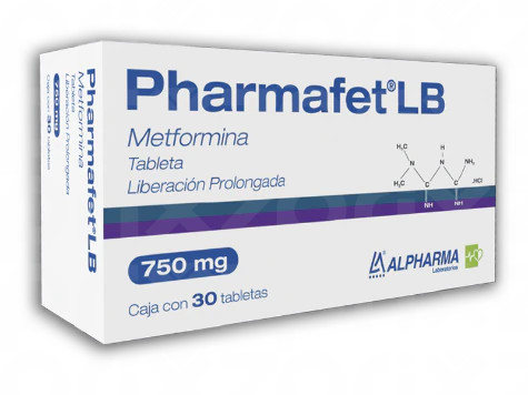 Pharmafet LB 750 mg 30 tabletas