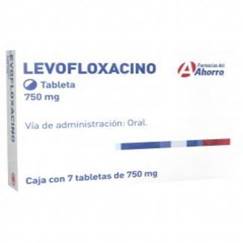 Marca del Ahorro levofloxacino 750 mg oral 7 tabletas
