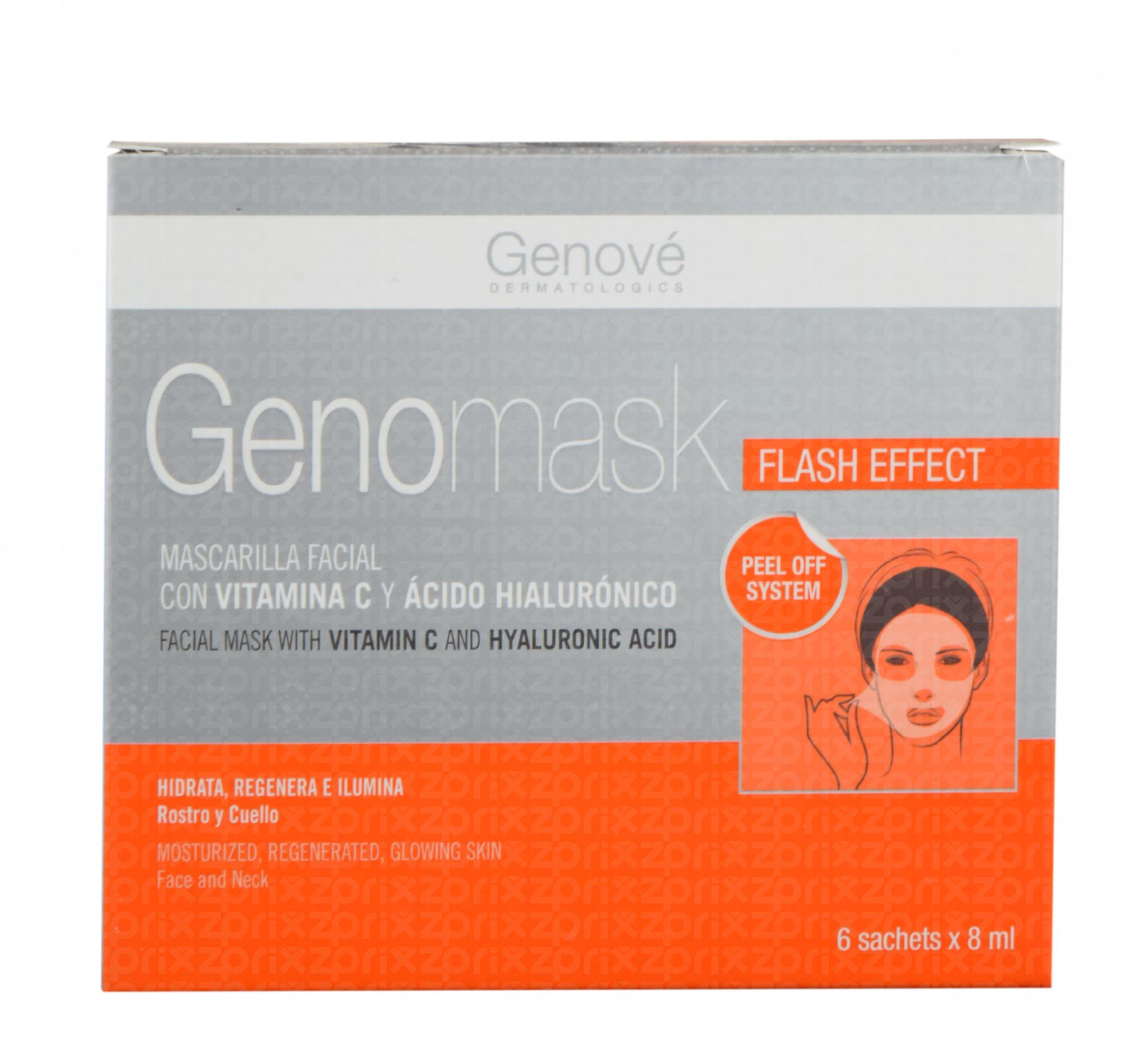 Genomask 6 sobres 8 ml cada uno