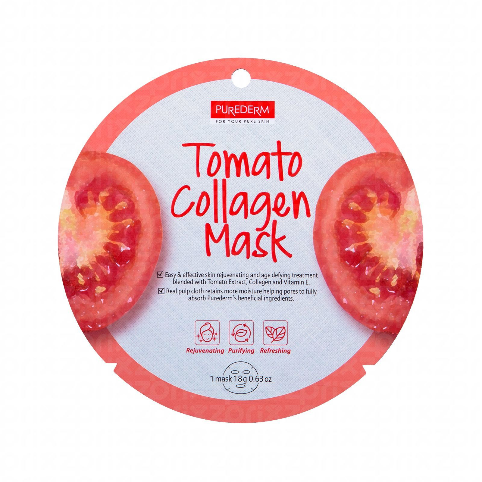 Purederm mask tomato collagen 18 gr