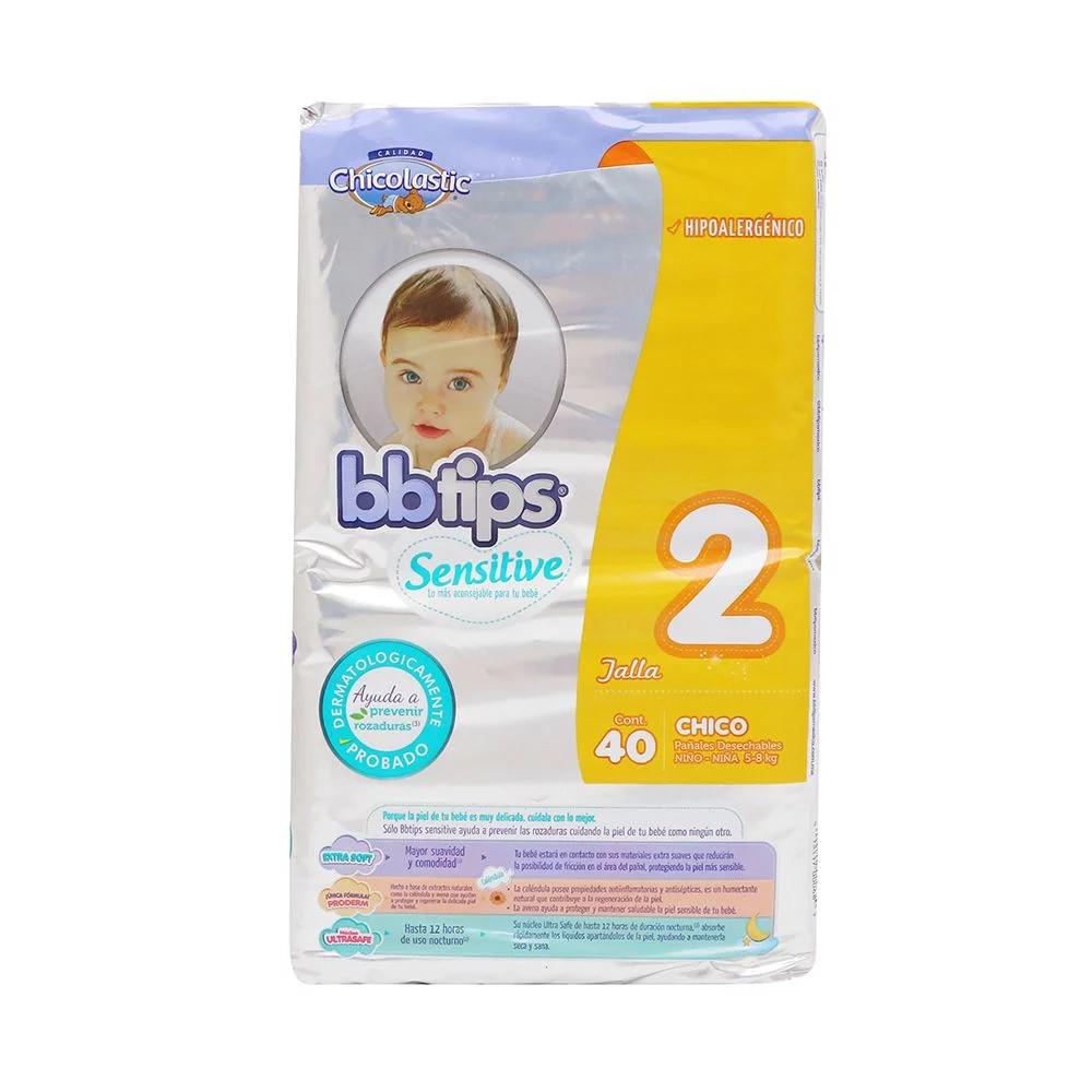 Comprar Bb Tips Etapa 2 1 Bolsa 40 Pañales