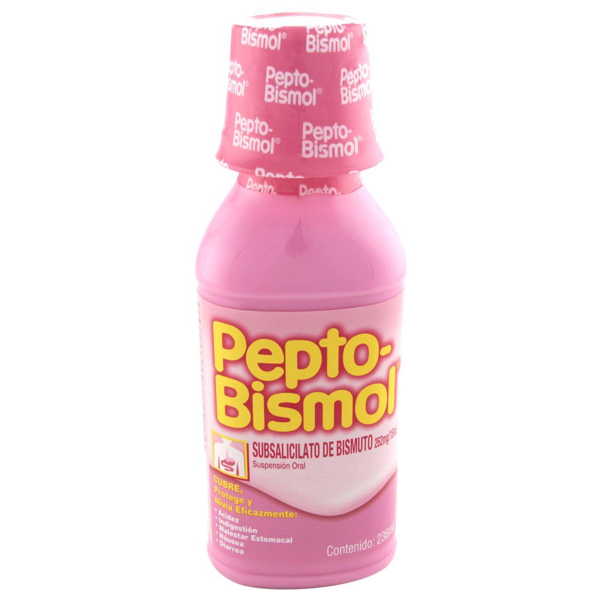Comprar Pepto Bismol 1 Frasco Suspension 236 Ml