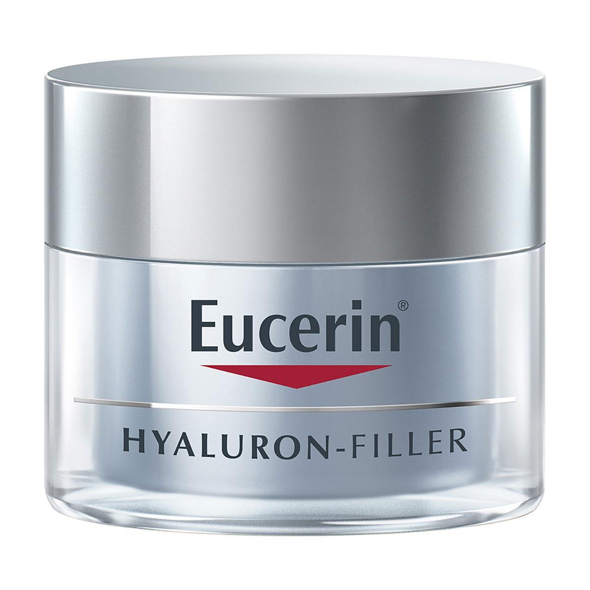 Eucerin Hyalur Fill Noche 1 Tarro Tarro 50 Ml