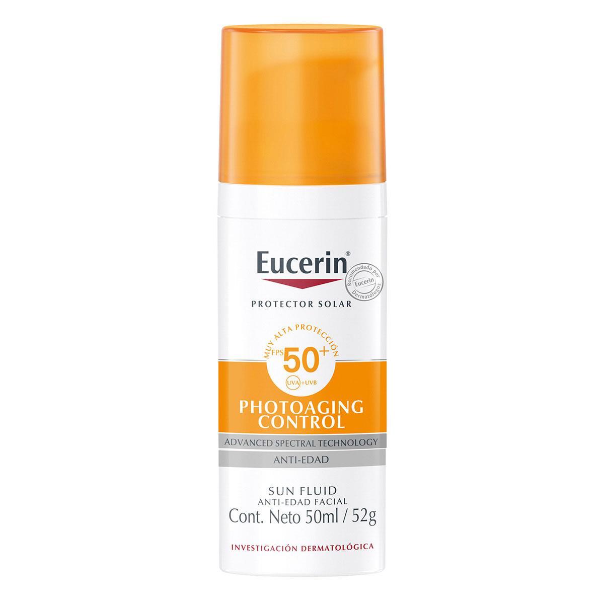 Comprar Eucerin Sun Fluido Anti-Age Face Fps 50 1 Frasco Fluido 50 Ml
