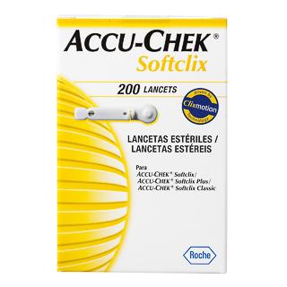 Comprar Accu-Chek Softclix Caja 200 Lancetas
