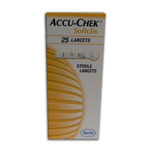 Comprar Accu-Chek Softclix Caja 25 Lancetas