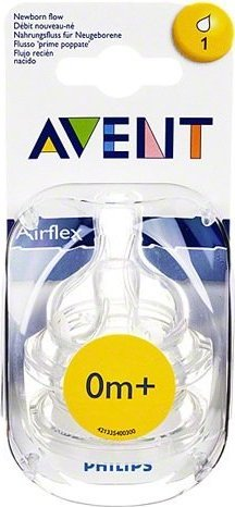 Comprar Avent Airflex Recien Nacido Mamila 1 Blister 2 Piezas