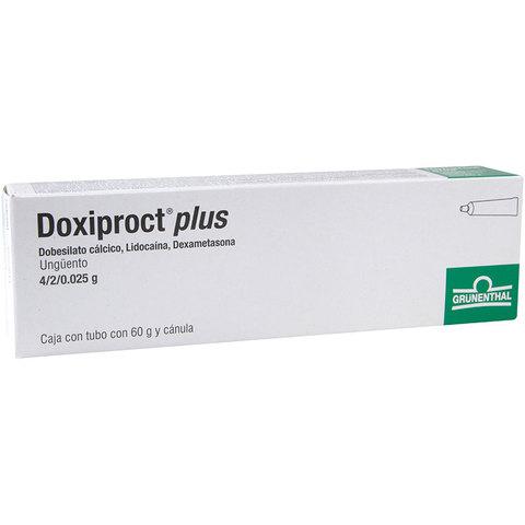 Comprar Doxiproct Plus 1 Tubo Pomada 60 Gr