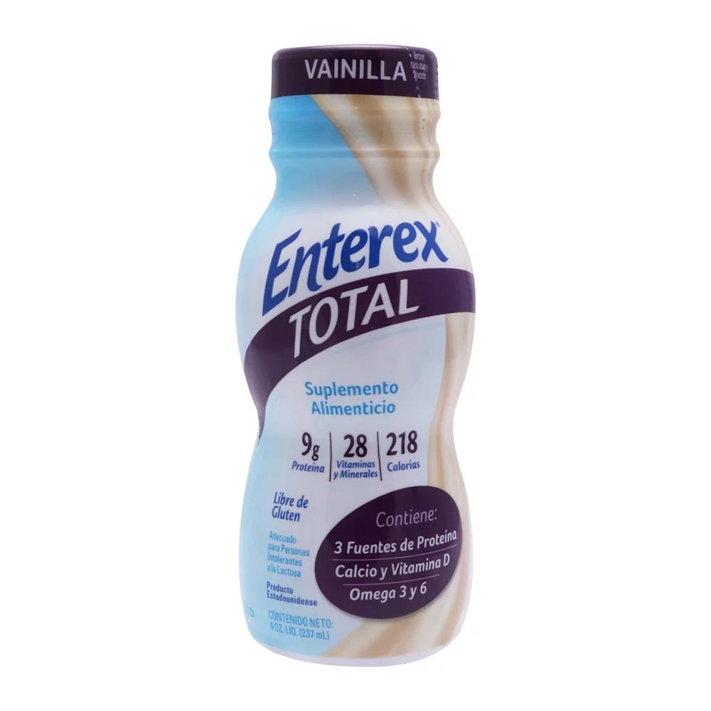Comprar Enterex Total Vainilla Liqui 1 Botella Liquido 237 Ml