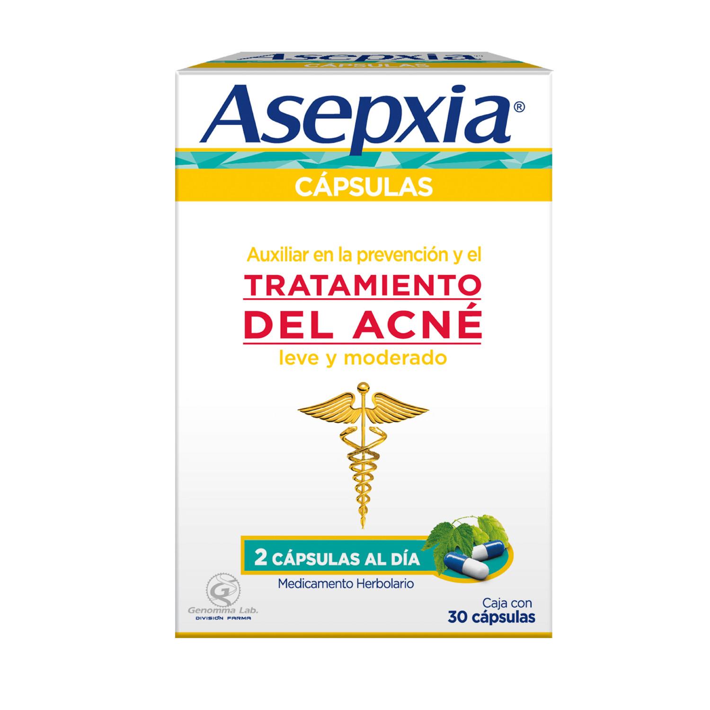Comprar Asepxia Caja 30 Capsulas