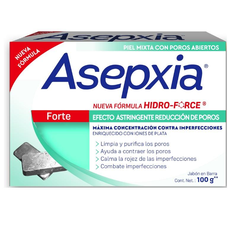 Comprar Asepxia Forte 1 Barra Jabon 100 Gr