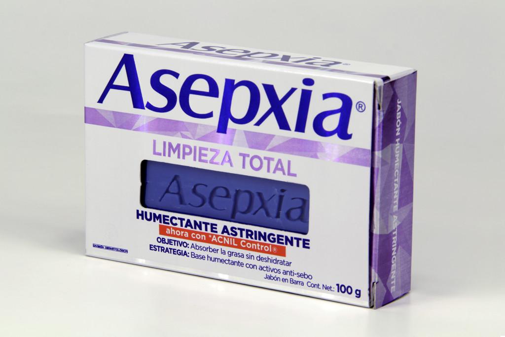 Comprar Asepxia Cremoso 1 Barra Jabon 100 Gr