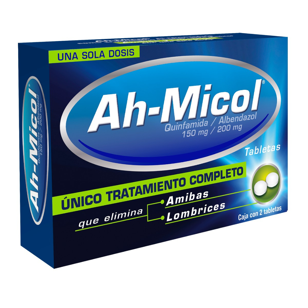 Comprar Ah Micol Dual 150/200 Mg Caja 2 Tabletas