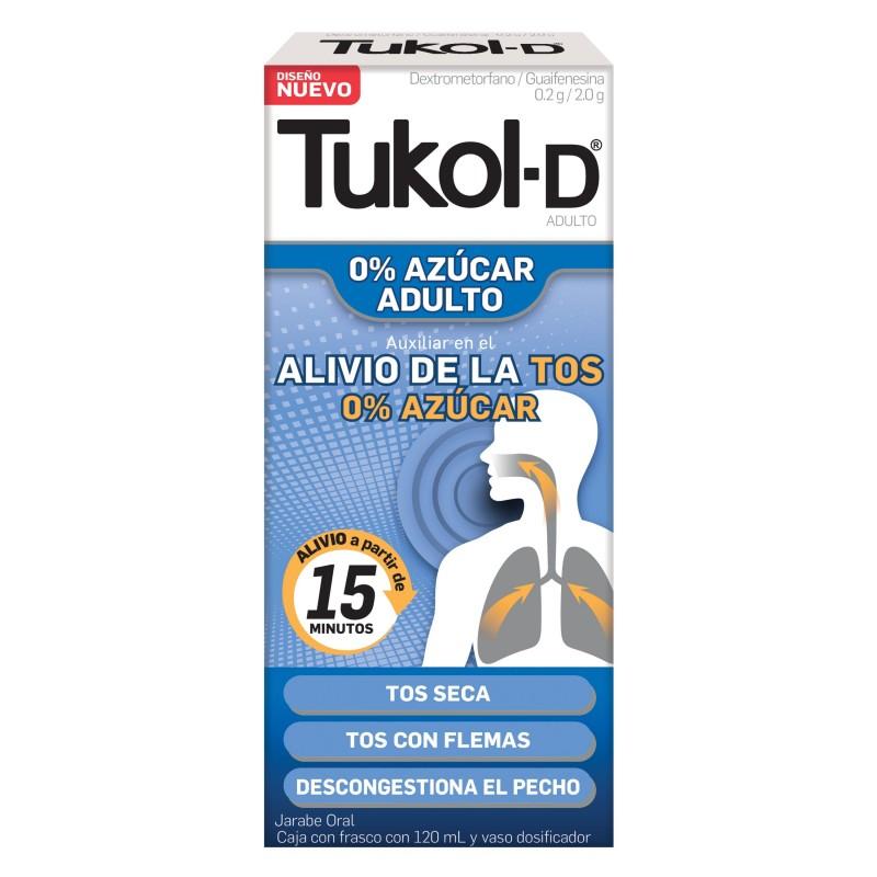 Comprar Tukol-D Diabetes 0.2 Gr 1 Frasco Jarabe 120 Ml