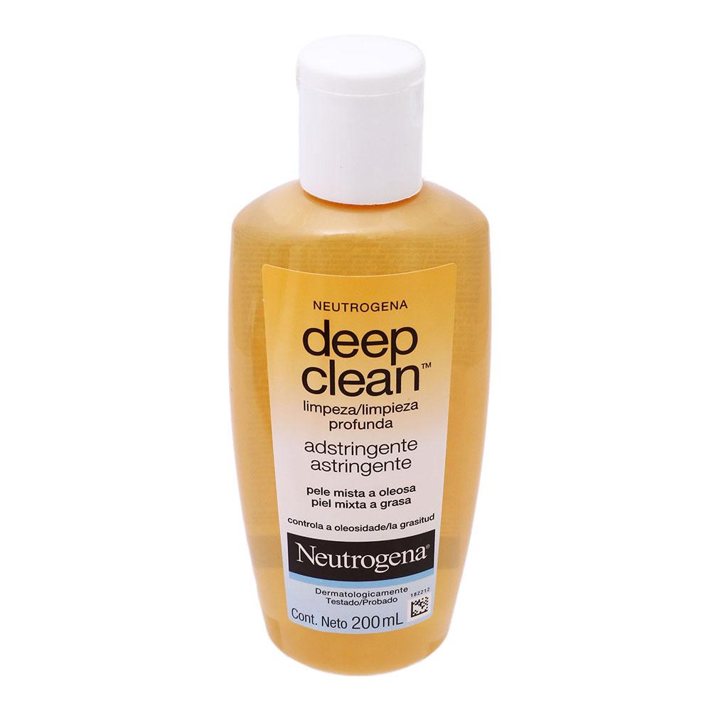 Comprar Neutrogena Astringente Deep Clean 1 Frasco 200 Ml