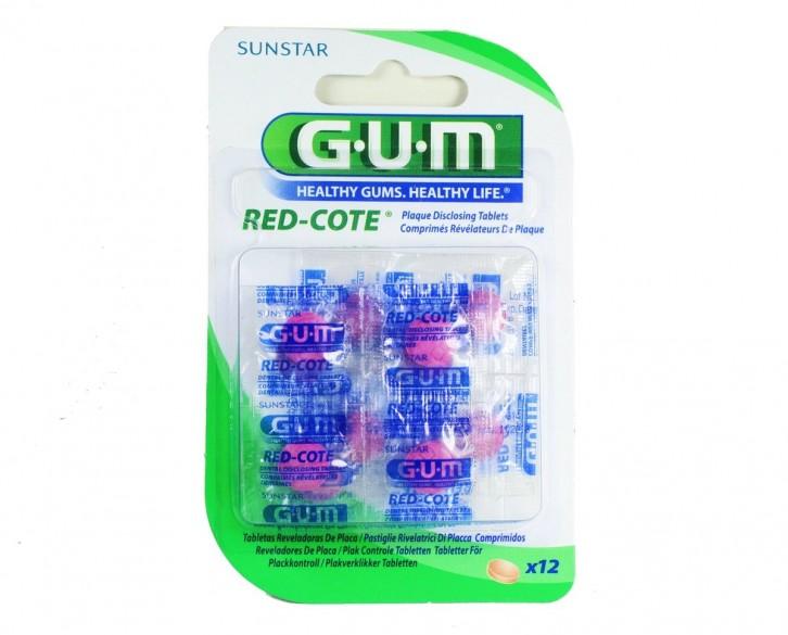 Comprar Gum Red-Cote Tabletas Reveladoras 1 Caja 12 Piezas