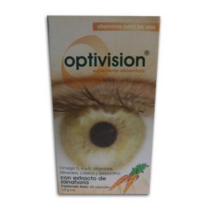 Comprar Optivision Caja 60 Capsulas