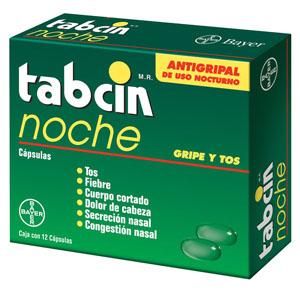 Comprar Tabcin Noche Caja 12 Capsulas
